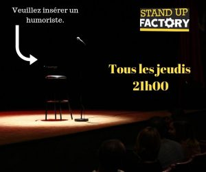 STAND-UP FACTORY saison 2019-2020