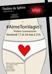 #AimeTonVagin ! CRÉATION de Christèle Guéry