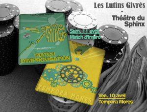 Les LUTINS GIVRES dans TEMPORA MORES- Théâtre d'improvisation