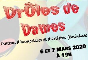 DROLES DE DAMES - PLATEAU D'HUMORISTES FEMININES