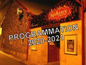 PROGRAMMATION 2020-2021